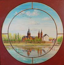 Blick auf Seligenstadt von Barbara Kaiser