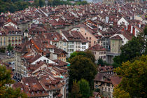 Rooftops over the City of Bern, Switzerland by Jessy Libik