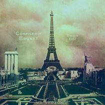 mémoire - Confiserie Brunet Paris 1937 von Chris Berger