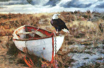 Der Adler und das Boot by Wolfgang Pfensig