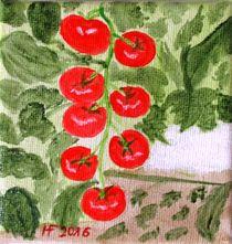 Pomodori by Hildegard Fatahtouii