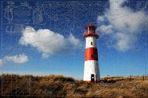 Leuchtturm auf dem Ellenbogen auf Sylt by eksfotos