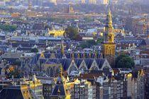 Ausblick auf Zuiderkerk Amsterdam by Patrick Lohmüller