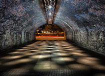 Late night tunnel by Leighton Collins