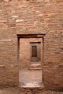 Chaco Canyon Doors by Steven Ralser