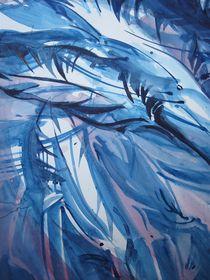 Federn im Wind - oder ein Engel  by Heike Jäschke