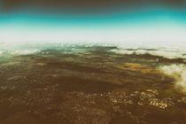 Aerial Photo Of Earth Horizon von Radu Bercan