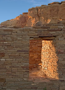 Chaco Canyon Window by Steven Ralser