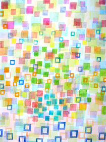 Raining Squares and Frames by Heidi  Capitaine