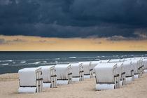 Strandkörbe in Zinnowitz auf der Insel Usedom by Rico Ködder
