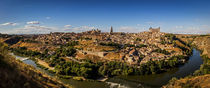 Toledo Panorama by David Pringle