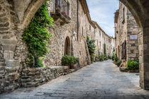 Vilanova Street (Monells, Catalonia) von Marc Garrido Clotet