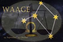 Sternzeichen - Waage by Chris Berger