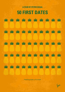 No696 My 50 First Dates minimal movie by chungkong