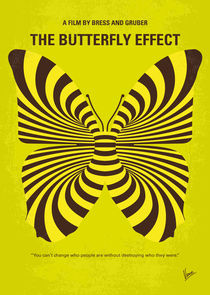 No697 My The Butterfly Effect minimal movie poster by chungkong
