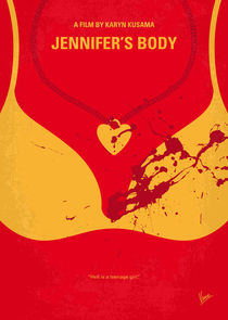 No698 My Jennifers body minimal movie poster von chungkong
