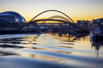 Newcastle Quayside by David Pringle