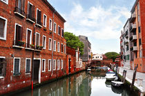 buildings and canal in Venice, Italy by tanialerro
