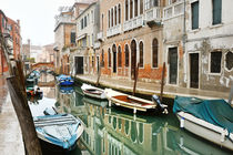 Venice, beautiful view of a canal, Venezia, Italy von Tania Lerro