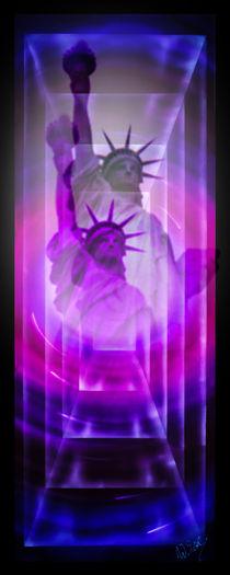 Freiheitsstatue New York by Walter Zettl