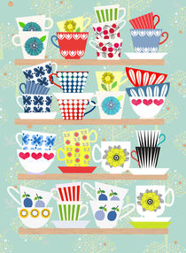 Scandinavian cups collection by Elisandra Sevenstar