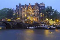 Regenabend in Amsterdam von Patrick Lohmüller
