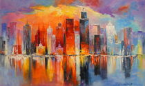 'Evening new York' by Olha Darchuk