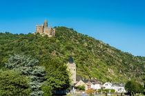 Wellmich mit Burg Maus 63 von Erhard Hess