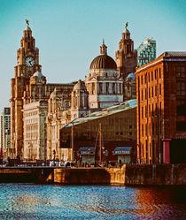 Albert Dock Liverpool  by John Wain
