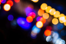 Bubble Bokeh II von elbvue by elbvue