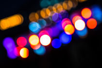 Bubble Bokeh VIII von elbvue by elbvue