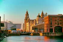 Albert Dock And the Pier Head by John Wain