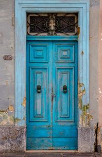 Tür Blau von la-mola-lighthouse