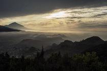 Teneriffa - Blick vom Anaga-Gebirge zum El Teide, 2 von Hartmut Binder