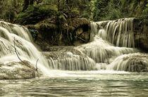 Wasserfall Kuang Si von Bruno Schmidiger