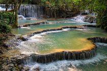 Kuang Si Wasserfall 1 by Bruno Schmidiger