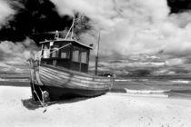 Ein Fischerboot in Ahlbeck auf der Insel Usedom by Rico Ködder