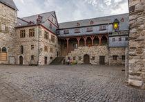 Schlosshof in Limburg 53 by Erhard Hess
