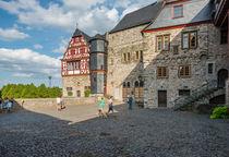 Schlosshof in Limburg 66 von Erhard Hess