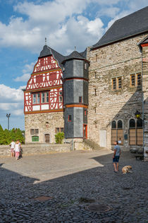 Schlosshof in Limburg 68 by Erhard Hess
