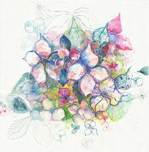 flores acuarela by aerostato