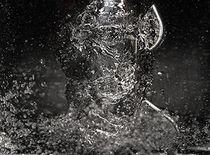 Wasserwirbel - Wasserverwirbelung by Martina Lender-Frase