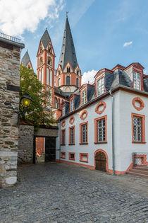 Schlosshof mit Dom in Limburg 74 by Erhard Hess
