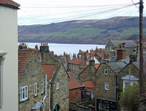 Rooftops, Robin Hood's Bay von Rod Johnson