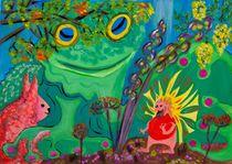 Der Frosch im Garten von Thuvos Virtuelles Atelier