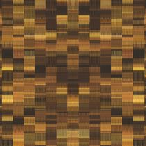 gold brown and black plaid pattern abstract background by timla