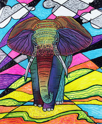 The Mighty Elephant von Laura Barbosa