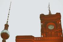 Rotes Rathaus  von Bastian  Kienitz