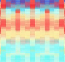 red blue and orange plaid pattern abstract background by timla