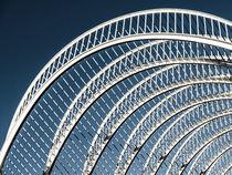 Abstract White Architecture On Blue Sky von Radu Bercan
